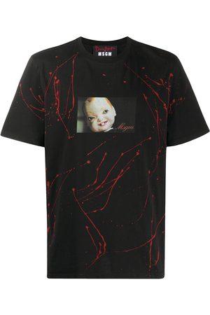 Msgm Photograph print T-shirt