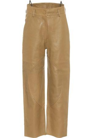PETAR PETROV Hunter leather pants