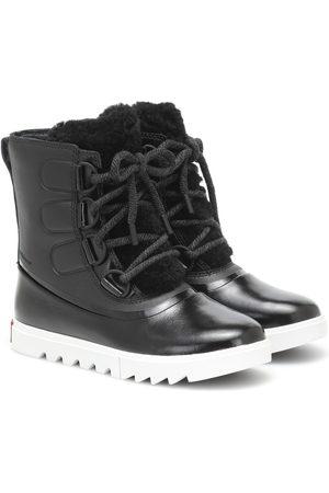 sorel Joan Of Arctic Next Lite leather snow boots