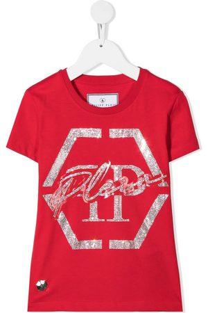 Philipp Plein Hexagon short sleeved T-shirt