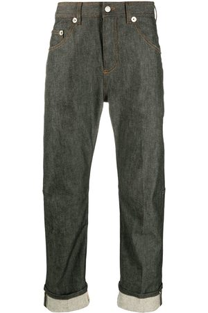 Neil Barrett Turn-up hem straight-leg jeans