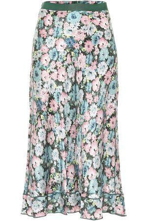 Marc Jacobs The '40s floral silk jacquard midi skirt