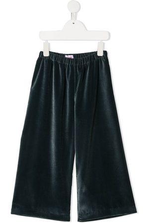 Il gufo Pantalones de terciopelo anchos
