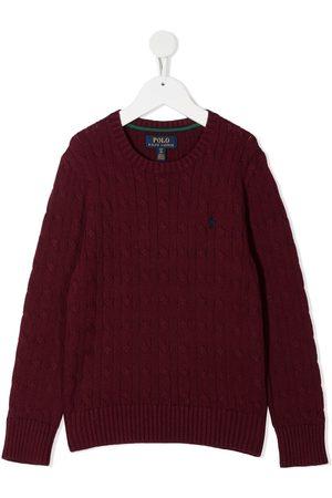 Ralph Lauren Suéter tejido de ochos