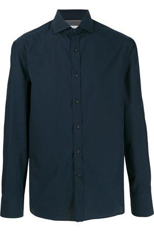 Brunello Cucinelli Camisa ajustada manga larga