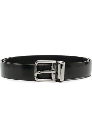 Dolce & Gabbana Cinturón con logo grabado en la hebilla