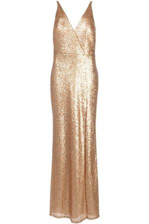 Marchesa Notte Mujer Vestidos de noche - Vestido con lentejuelas y cuello en V