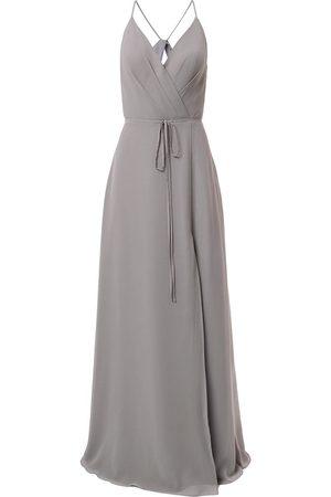 Marchesa Notte Bridesmaids Vestido de fiesta con lazo en la cintura