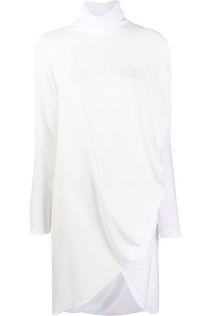 MM6 MAISON MARGIELA Draped long-sleeve dress