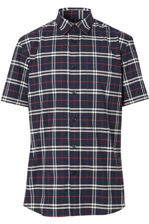 Burberry Check short-sleeve shirt