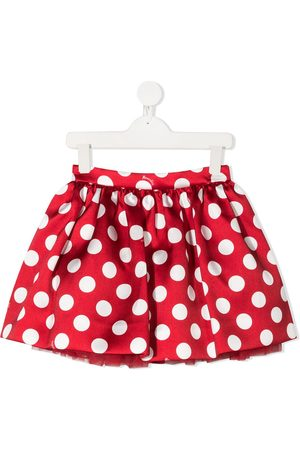 MONNALISA Polka dot full skirt