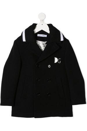 Dolce & Gabbana Kids Niño Abrigos de lana - Abrigo con doble botonadura