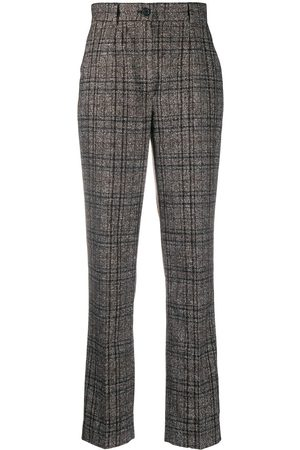 Dolce & Gabbana Mujer De vestir - Pantalones de vestir de tweed