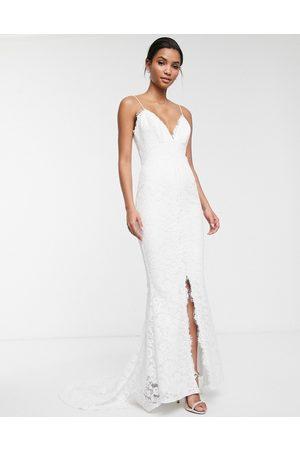 ASOS Angelina lace cami wedding dress
