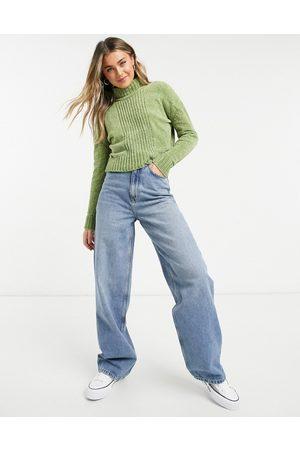 Wednesday's Girl High neck jumper in chenille