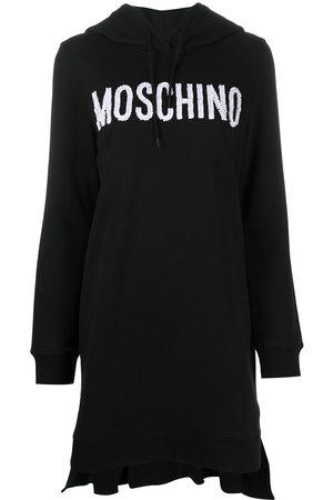 Moschino Vestido estilo sudadera con logo