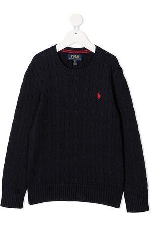 Ralph Lauren Suéter con logo bordado