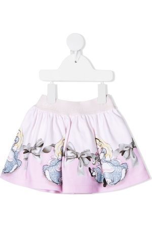 MONNALISA Disney print skirt