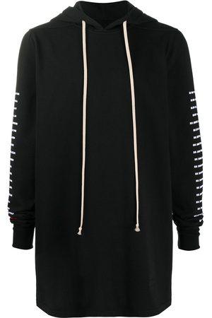 Rick Owens Hombre Con capucha - Long drawstring hoodie