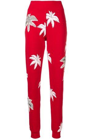 Philipp Plein Mujer Slim y skinny - Pantalones slim estampados