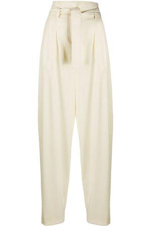 WANDERING Mujer Pantalones y Leggings - Pantalones tapered holgados