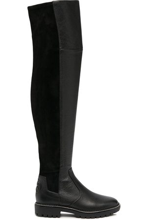 Tory Burch Knee-length elasticated panel boots