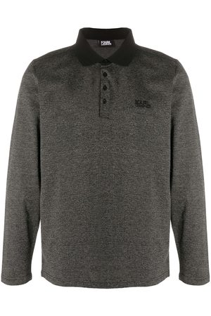 Karl Lagerfeld Long sleeve polo shirt