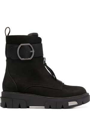 DKNY Buckle-detail ankle bots