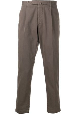 DELL'OGLIO Pleated waist trousers