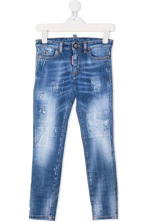 Dsquared2 Jeans - Vaqueros skinny con costura en contraste