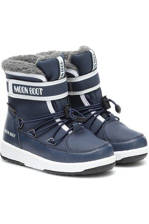 Moon Boot Faux leather snow boots