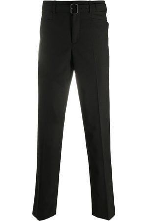 Neil Barrett Pantalones slim con cinturón