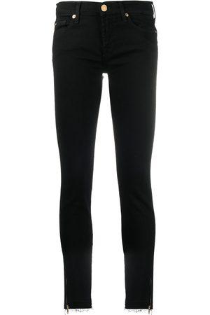 7 for all Mankind Mujer Skinny - Skinny jeans con tiro bajo