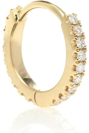 Maria Tash Mujer Aretes - Eternity 18kt gold single hoop earring with diamonds