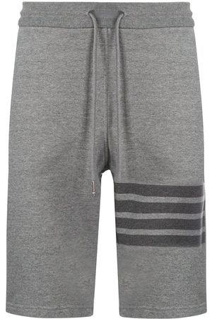 Thom Browne Hombre Shorts - Shorts deportivos a rayas