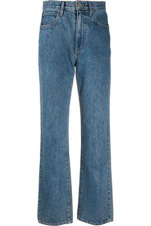 SLVRLAKE Mujer Rectos - Jeans rectos con tiro alto