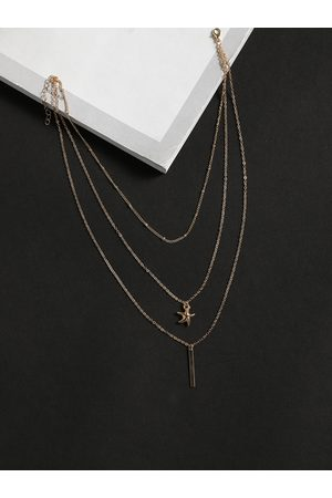 YOINS Color Starfish Rod-shape Multi-layer Necklace