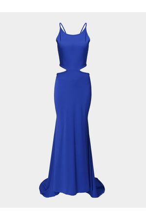 YOINS Maxi Party Dress with Self-tie Detail