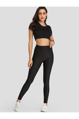 YOINS Plain Breathable Sweat-absorbing Buttock Lifting Pants