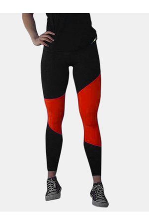 YOINS Active Quick Drying Contrast Color Stitching High Waisted Leggings