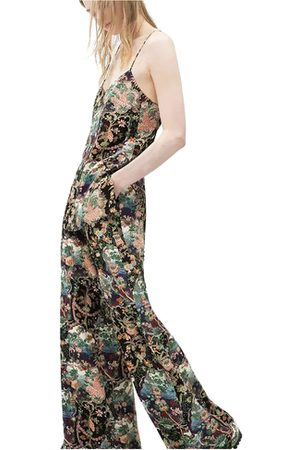 YOINS Floral Wide Leg Beach Trouser With Side Pockets