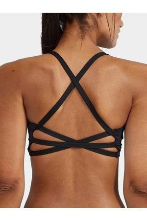 YOINS Medium Impact Anti-shock Weave Design Sports Bra in