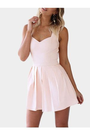 YOINS Heart Cut Out Mini Party Dress in