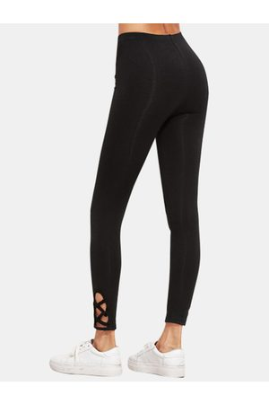 YOINS Active Cut Out High Waisted Yoga Leggings in