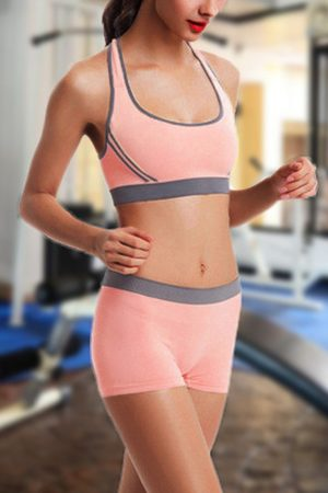 YOINS Two-piece Gym Suits Sports Bra & Shorts Co-ord