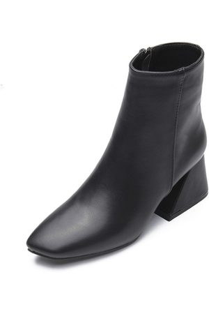 YOINS Pointed Toe Ankle Boots in