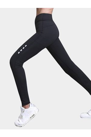 YOINS Active Quick Drying Elastic Strap High-waisted Leggings in