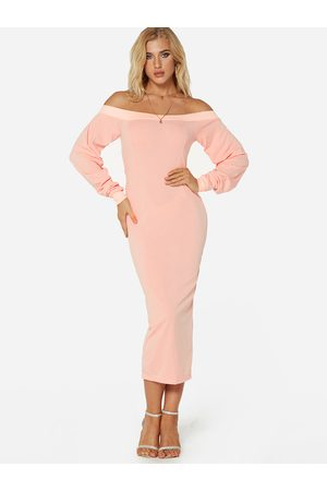 YOINS Off The Shoulder Long Sleeves Maxi Dress