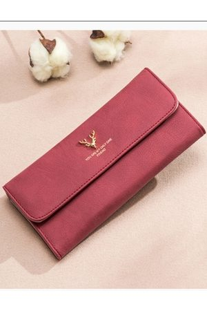 YOINS Deer Head Embellished Flip Design Hong Wallet Bag