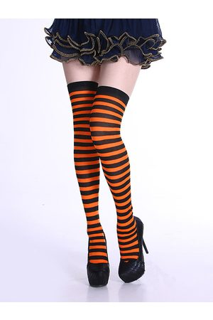 YOINS Over The Knee Multi Stripe Stockings